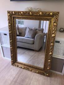 Large Gold Dorma Ornate Mirror