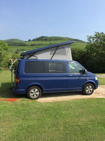 VW Transporter T5 2005 1.9 102 87k miles, Pop Top Campervan AC Twin Captain Seat, used for sale  Reading, Berkshire