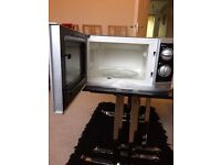 Morphy Richards microwave oven(20 litre) for sale