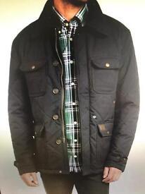 Gant men's large quilted jacket