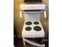 Newworld electric cooker with top grill NEW
