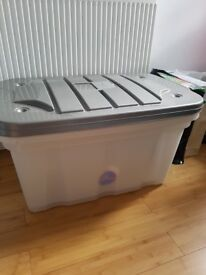 2 Large Storage Box / Toy Box