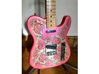 2008 Fender Japan '69 Reissue' Telecaster Guitar – Ltd Edition - Pink Paisley