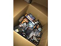 Over 100 dvds. Lucky dip