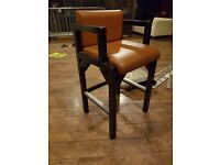 Bar Stools (solid and sturdy)