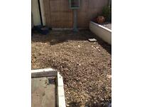Stones chipping for garden - FREE