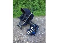 Britax B-Dual / B-Ready Double Buggy Pram and Car Seat