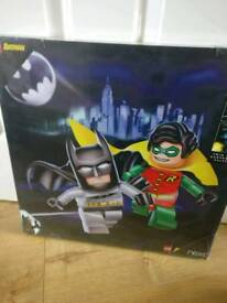 Next Lego Batman Canvas Art 45x45cm Twin pack