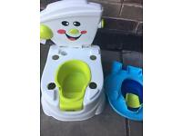 Kids / toddlers toilet unused