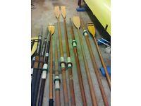 Rowing g oars