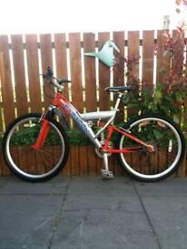 Saracen mountain bike SOLD!!!!
