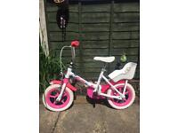 Little girl's first bike and scooter £12 for bith
