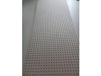 6 x decorative Screening Panel Boards - suitable radiator cabinets etc - unused - half cost price