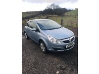2008 Vauxhall corsa 38000 miles 2previous owners