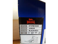 lonsdale boxing boots boys size 6 uk new