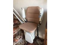 Stannah stairlift 260 curved