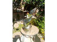 Stainless steel self adjusting chimney cowl