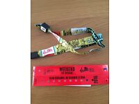 2 x V Festival weekend Tickets with Yellow camping and VIP upgrade