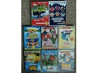 17 children's DVDs