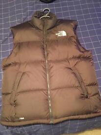 North Face Nuptse sleeveless jacket