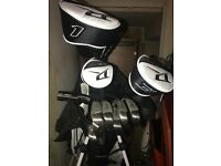 Wilson deep red tour (2016) full golf club set with carry bag