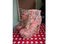 Rare ASOS Size 4 floral Heels