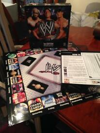 WWE wrestling 3rd Edition DVD Board Game