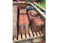 Redlands 50 Double Roman Terracotta Smooth Roof Tiles