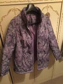 Ladies brand new soft padded coat size 18