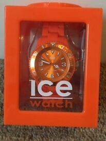 Ice Watch in orange