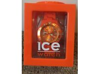 Ice Watch in orange