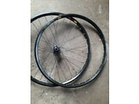 Hope / Mavic front wheel and spare rim 26 inch