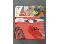Disney cars lightning mcqueen duvet set , cover , single
