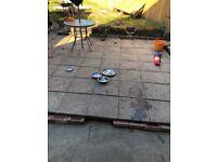 60 paving slabs