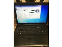 """Working asus laptop-4gig ram-15.6"""" screen-need screen and keyboard and charger"""