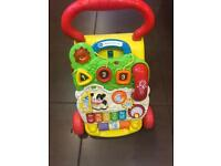 Baby walker first steps by vtech. Execellent condition