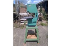 Bandsaw + Dust extractor for Woodturning Inca Euro 260 Bench bandsaw Elektra Beckum Dust extractor