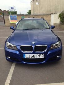 BMW 320d e91 for sale!!! 2008 Blue 2 keys Automatic Full service history