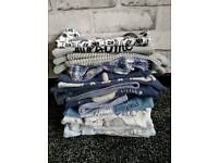 Baby bundle. 0-3 months. Clothes, snowsuit, jacket, Me To You sleeping bag and blanket.