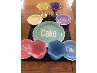 Cake and Sundae Set - Retro and Pastel