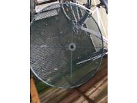 Outdoor Green Metal Table *Free to Collect*