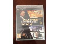 Brand new PS3 007 Legends