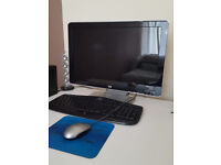 HP widescreen monitor + mouse and keyboard