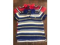 2 Children's Ralph Lauren Polo Shirts