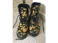 Limited Edition Jake the Dog Adventure Time doc martins
