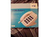 Big button bt house home landline phone