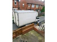 Man and big large luton van, Cheap van hire for house moves and rubbish and hedge collection