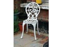 Single Aluminium Garden Chair