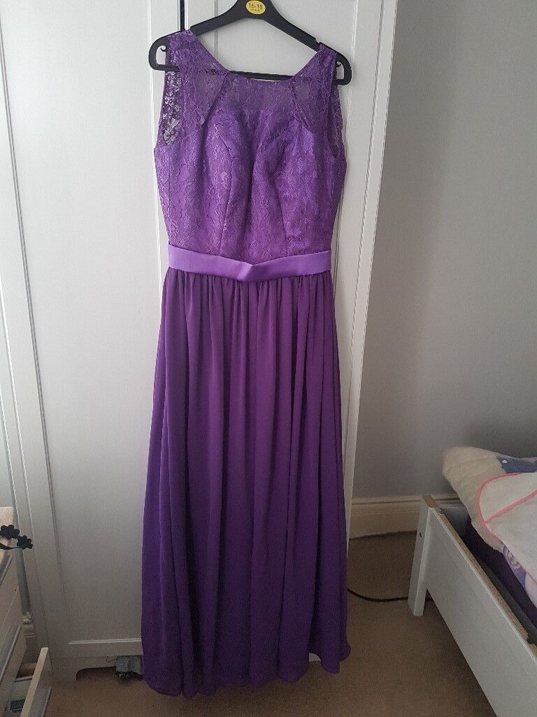 Two Cadbury purple bridesmaid dresses | in Redcar, North Yorkshire ...