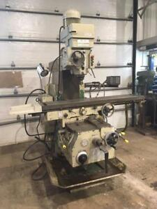 "(USED) VERTICAL MILLING MACHINE / LAGUN FT-5 / 13-3/8"" x 63"""
